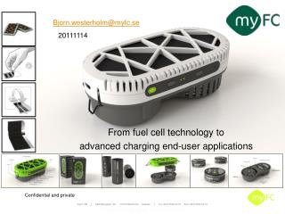 From fuel cell technology  to  advanced charging end-user applications