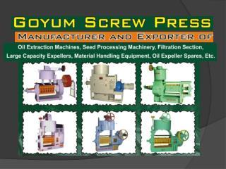 slide 1 - nebraska screw press home