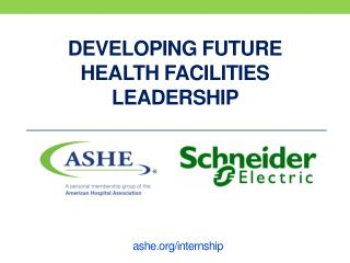Developing future health facilities leadership