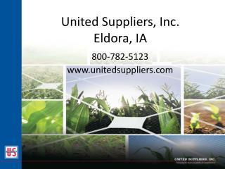 United Suppliers, Inc. Eldora, IA