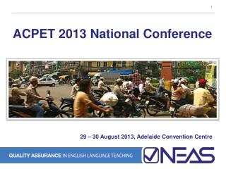 ACPET  2013  National Conference