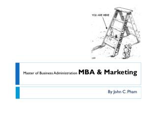 Master of Business Administration  MBA & Marketing
