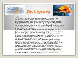 Dr.Lepora