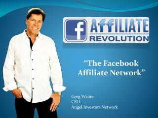 Greg Writer CEO Angel Investors Network