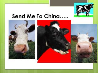 Send Me To China�..