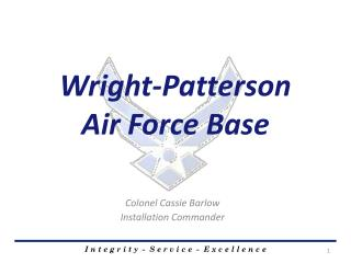 Wright-Patterson  Air  Force Base