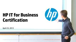 HP IT for Business Certification