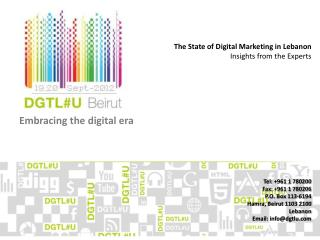 Embracing the digital era