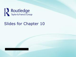 Slides for Chapter 10