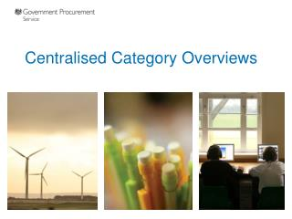 Centralised Category Overviews