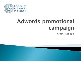 Adwords  promotional  campaign