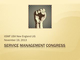 Service Management Congress