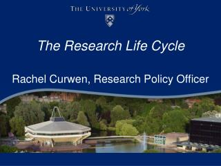 The Research Life Cycle