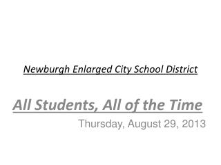 Newburgh Enlarged City School District