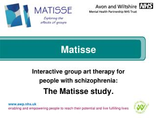 Matisse Interactive group art therapy for people with ...