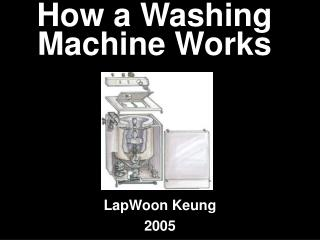how a washing machine works