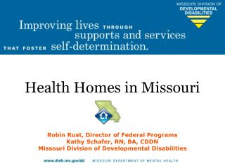 Health Homes in Missouri