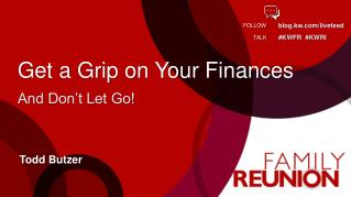 Get a Grip on Your Finances