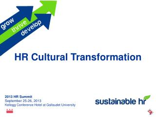 HR Cultural Transformation