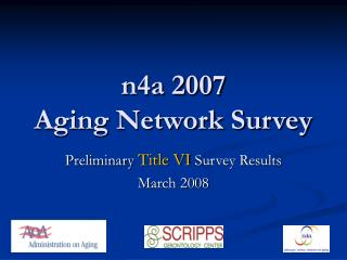 n4a 2007  aging network survey