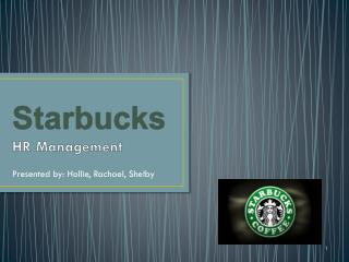 Starbucks HR Management