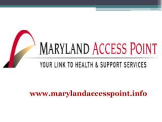www.marylandaccesspoint.info