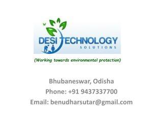 Bhubaneswar,  Odisha Phone: +91 9437337700 Email: benudharsutar@gmail.com