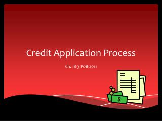 Credit Application Process