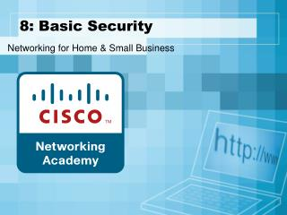 8: Basic Security