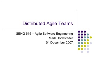 distributed agile teams