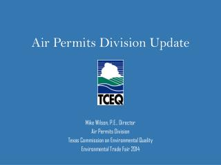 Air Permits Division Update