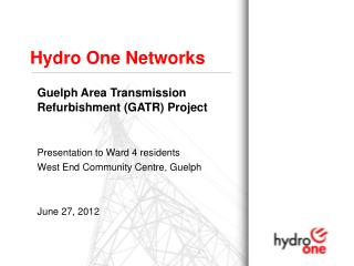 Hydro One Networks