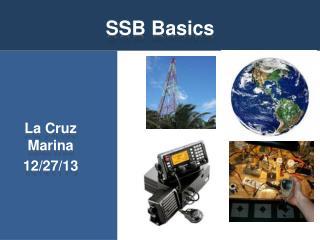 SSB Basics