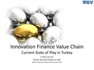Innovation Finance Value Chain Current State of Play in Turkey