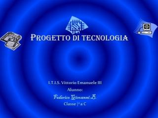 presentazione di tecnologia