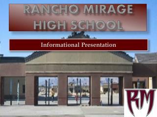 Rancho mirage high school