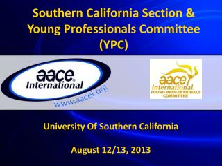 Southern California Section & Young  Professionals  Committee ( YPC)