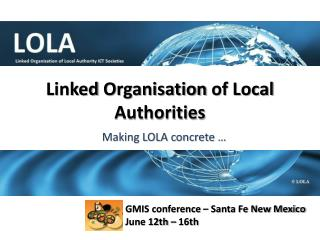 Linked Organisation  of  Local Authorities