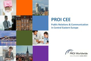 PROI CEE Public Relations & Communication  in Central Eastern Europe