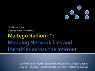 Maltego Radium™: Mapping  Network Ties and Identities across the Internet