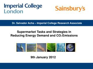 Dr. Salvador Acha � Imperial College Research Associate