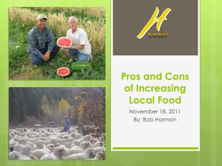 Pros and Cons of Increasing Local Food