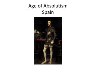 Age of Absolutism Spain
