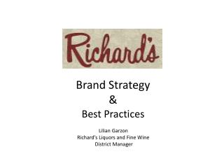 Brand Strategy & Best Practices