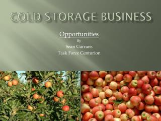 Cold storage business