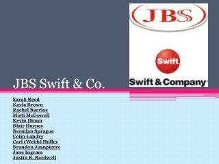 JBS Swift & Co.