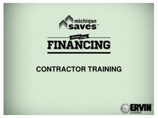 Contractor training