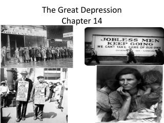 The Great Depression Chapter 14