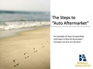 """The Steps to """"Auto Aftermarket"""""""