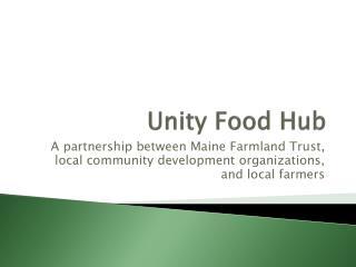 Unity Food Hub